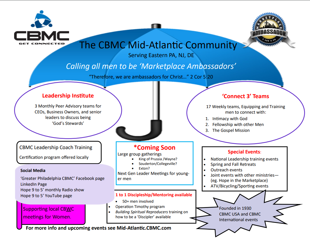 MidAtlantic Umbrella of Activity